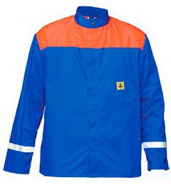 ESD bunda zapínací dvoubarevná