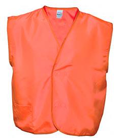 ESD vesta oranžová s refl exními pruhy